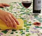 Как правильно стирать скатерти, чем выводить сложные пятна.