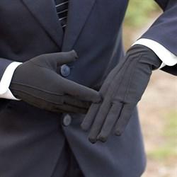 Перчатки черные - фото 7216
